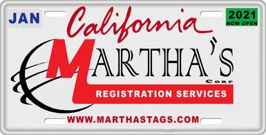 Martha's Car Registration